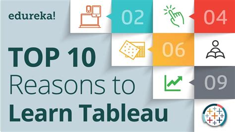 tableau tutorial for beginners youtube top 10 reasons to learn tableau tableau certification