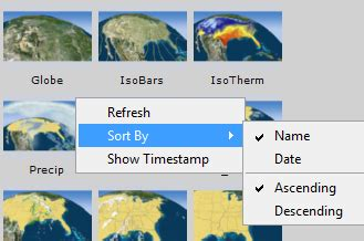 Working With Graphic Templates Viz Weather User S Guide Vizrt Documentation Center Weather Graphics Template