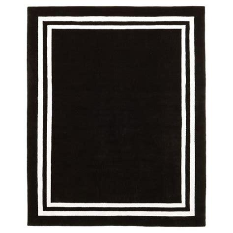 black rug with white border white rug with black border k k club 2017