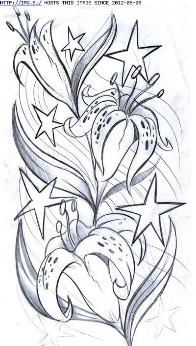 flower and stars tattoo designs 26 tattoos designs