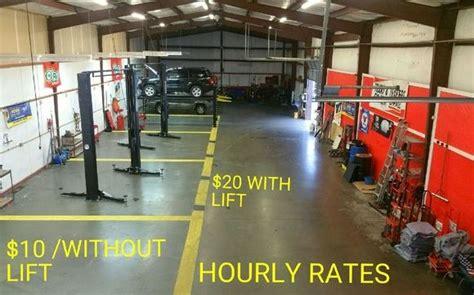 auto repair shops  rent