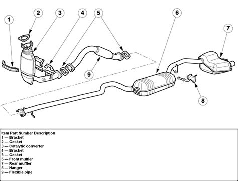 2003 ford escape exhaust system diagram 2003 ford windstar exhaust system diagram 2003 get free