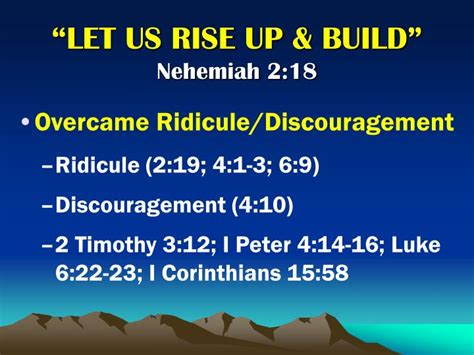 Quot 2 Corinthians 12 9 Quot 3rd Official Video Blog Forever | ppt quot let us rise up and build quot powerpoint presentation