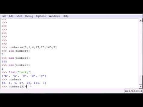 tutorial python functions python programming tutorial 12 more list functions