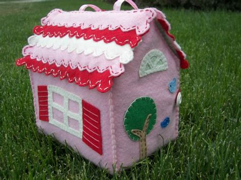 felt doll house inkspired musings fanciful homes and their paper dolls