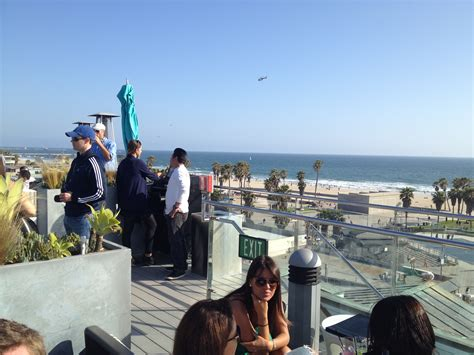 roof top bar venice where to eat and drink in venice california