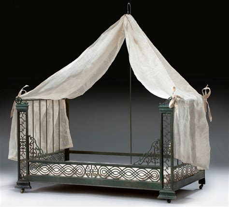 cat canopy bed antique french cut steel dog cat bed with canopy