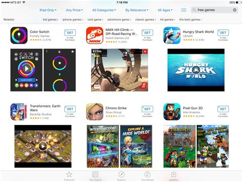 layout on app store apple quietly changes app store search layout