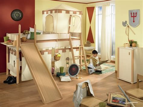 Best Kids Bedrooms | funny play beds for cool kids room design by paidi digsdigs