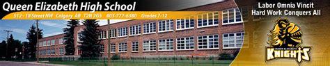 Elizabeth Schools Calendar Calgary Board Of Education Elizabeth High School