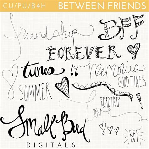doodle forever reviews digital doodles bff best friends forever just between friends