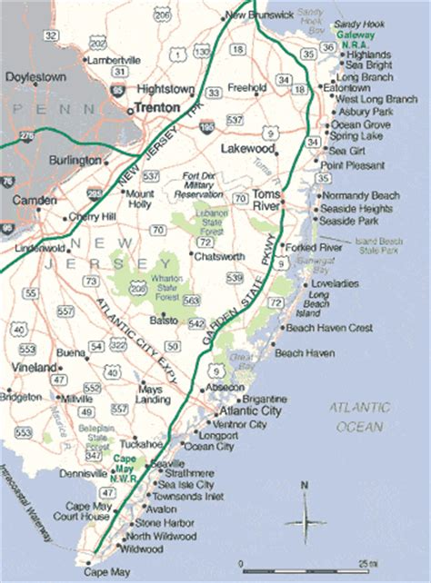 jersey shore map jersey shore vacation rentals jersey shore vacations houses or apartments to rent near the