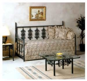 Wrought Iron Daybed Wrought Iron Daybed Aged Iron Contemporary Daybeds