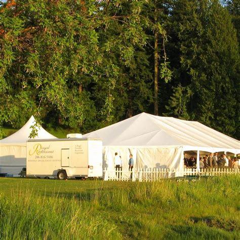 backyard wedding trailer portable wedding restroom trailer rentals