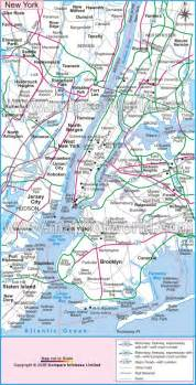 A Map Of New York City by Geography Blog Maps New York City