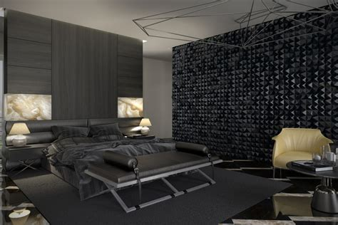 textured accent wall 7 stylish bedrooms with lots of detail