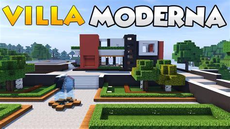 Su Minecraft by Come Costruire Una Villa Su Minecraft Parte 1