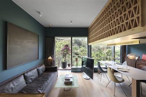 Casa Interior Design by Tiny Tree House Inspired Hong Kong Apartment Takes Its
