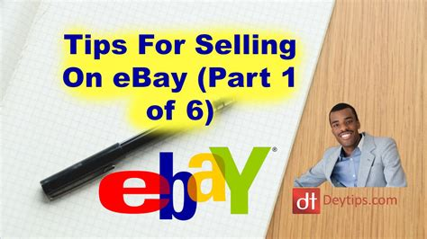 How To Sell On Ebayiii Step By Step Guide Through by How To Sell On Ebay For Beginners Step By Step Part 1 Of