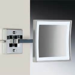 bathroom makeup mirror wall mount wall mounted led lighted magnifying mirror modern