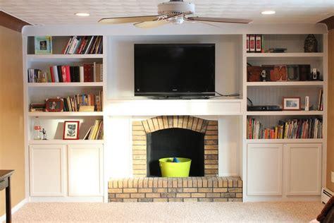 built in fireplace bookshelves american hwy