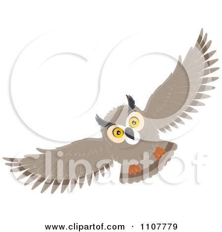 flying owl clipart small owl clipart clipart kid