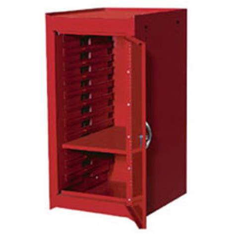 side cabinet 30 side tool cabinet w shelf red international tool