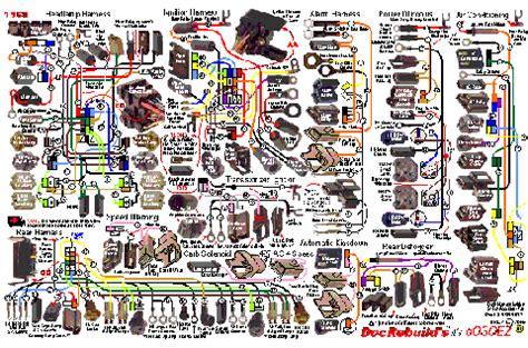 1968 Corvette Oosoez Dash Wire Harness Guide Set