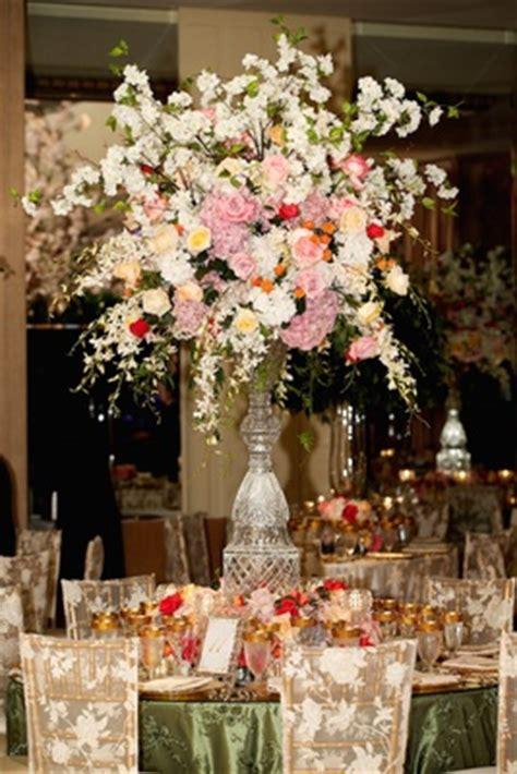 Flower Vase Stand Tall Flower Arrangements Wedding Centerpiece Designs