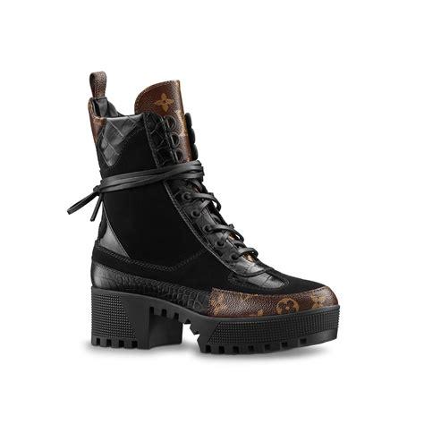 Heels Lv New 1 laureate platform desert boot shoes louis vuitton