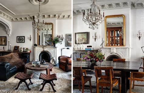 Victorian Home Interiors roman and williams designed brooklyn brownstone is an