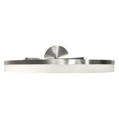 style vanity lights style selections lynnpark 1 light brushed nickel vanity