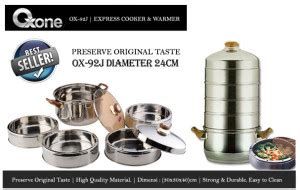 Ox 92 J Express Cooker And Warmer Oxone Kukusan Berkualitas ox 92j banner happy call alat kesehatan happy call asli