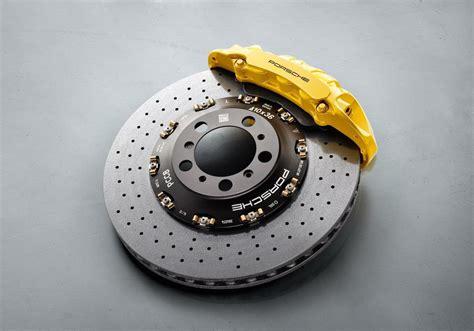 pccb porsche carbon ceramic brake with a 6 piston
