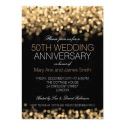 7 000 50th anniversary invitations 50th anniversary announcements invites zazzle