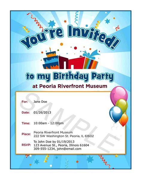 free text invitations birthday text invitation birthday invitation librarry