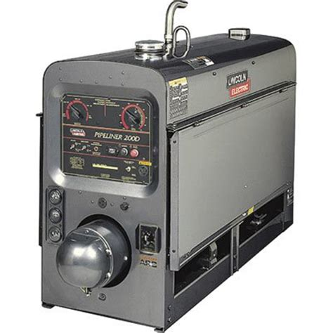 lincoln electric pipeliner 200d dc arc welder featuring
