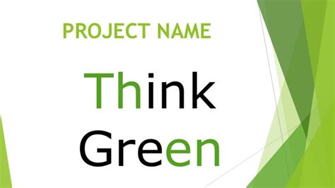 Think Green 2 Oceanseven think green project