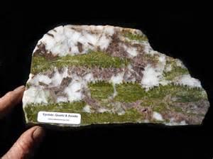 Iron Home Epidote Quartz Amp Axinite