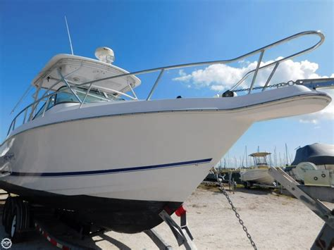 used proline walkaround boats for sale 2003 used pro line 33 walk around walkaround fishing boat