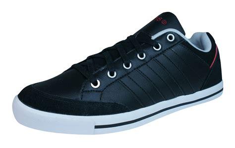 Sepatu Adidas Neo Cacity adidas neo cacity mens leather trainers shoes black at galaxysports co uk