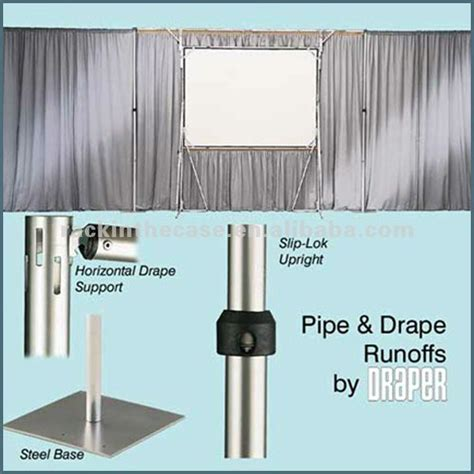 portable pipe and drape rk portable pipe and drape backdrops for events buy