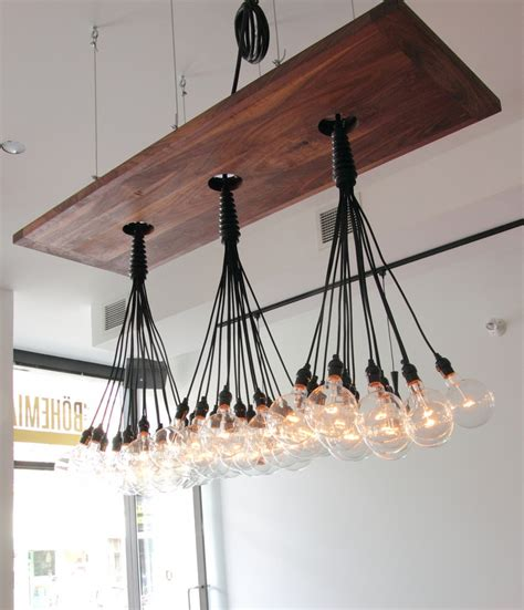 Hanging Pendant Lights Over Kitchen Island 25 beautiful diy wood lamps and chandeliers that will
