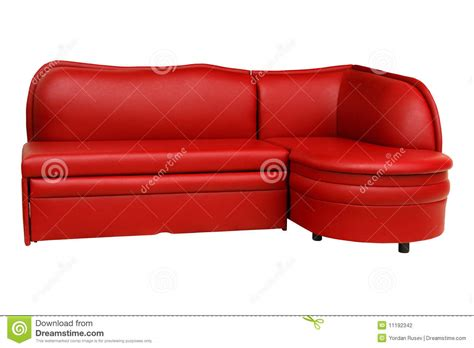 red sofa chair red sofa furniture stock photography image 11192342