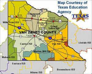 zandt county map zandt couty school districts