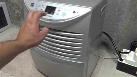 Dehumidifiers For Basement by Dehumidifier Pump Youtube