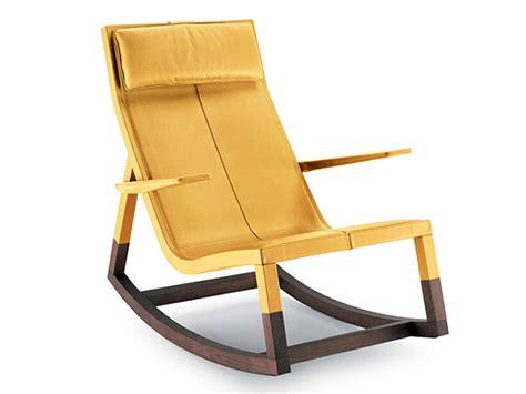 Rocking Lounge Chair Design Ideas Poltrona Frau Don Do Rocking Lounge Chair By Jean Massaud Chaplins