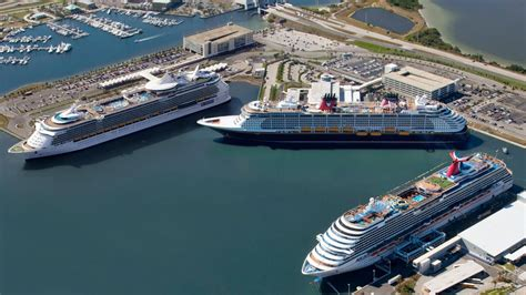 port canaveral plans    cruise terminals