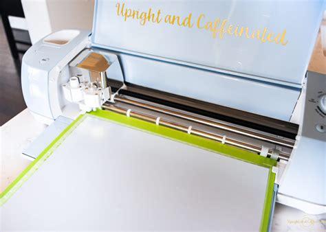 Cricut Explore Air 2 Vinyl And Heat Transfer Vinyl Bundle - easy heat transfer vinyl tutorial upright and caffeinated