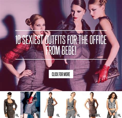 10 Sexiest For The Office From Bebe by 10 Sexiest For The Office From Bebe Fashion